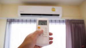 حداقل و حداکثر دمای کولر گازی
